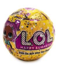 LOL HAPPY SURPRISE Кукла-сюрприз в шарике 10 см.