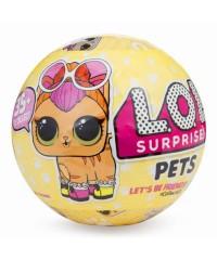 LOL Pets Кукла-сюрприз в шарике 9 см.