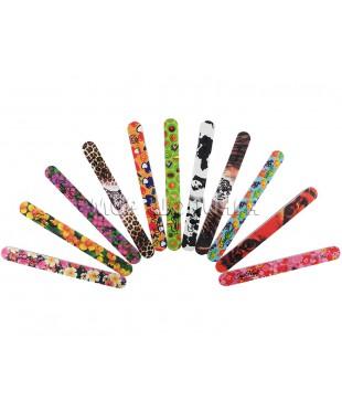 "Пилка для ногтей ""Jess Nail"" цветная 100/180."