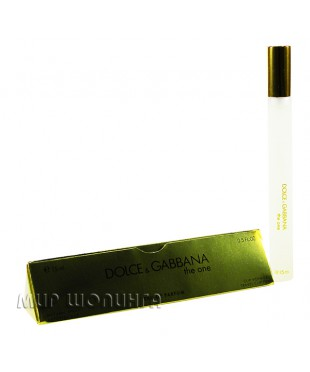 Dolce & Gabbana the one 15 ml. (for women)