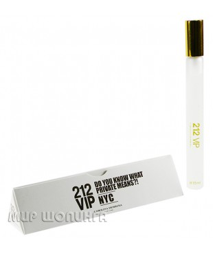 212 Vip Nyc for women Carrolina Herrera 15 ml.