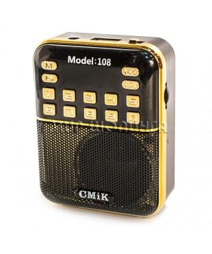 CMIK MK-108 Портативный радиоприёмник с MP3