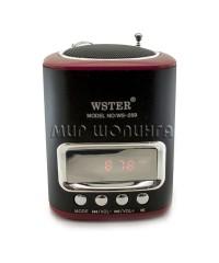 Wster WS 259 портативная колонка-радиоприёмник