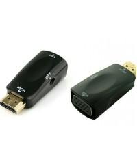 Переходник папа HDMI - мама VGA + аудиовыход