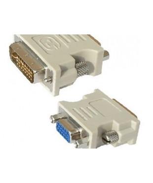 Переходник Rexant штекер DVI-I - гнездо VGA.
