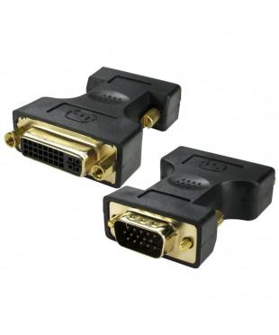 Переходник Rexant штекер VGA - гнездо DVI-I.