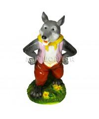 Серый волк (копилка) 30*18*17 см.