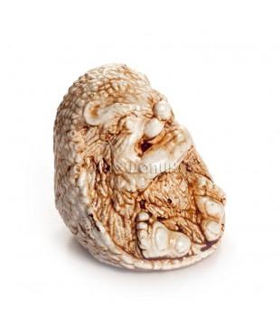 Ёжик сидит (цвет кость) 3,5 см.