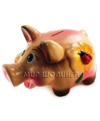 Свинья копилка 2 - 14*17*24 см.