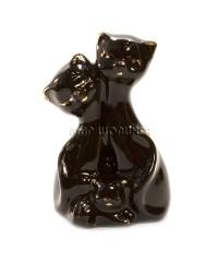 Пара чёрных кошек 8*3*5 см. GV208