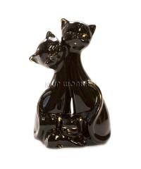 Пара чёрных кошек 13.4.5*8 см. GV217