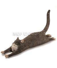 Статуэтка - Кот растянул лапы 9 см.