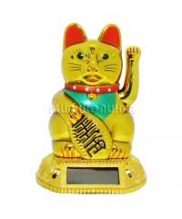 """Кот """"Манеки Неко"""" на солнечных батареях 9*6*5,5 см."""