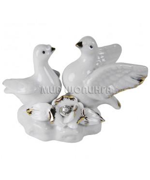 Пара голубей 6*8,5 см.