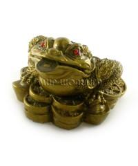 Денежная жаба трёх лапая 5*7.5*7.5 см.