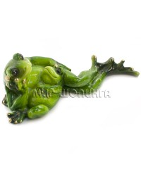Лягушка с лягушонком 6*18*8 см.