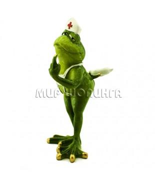 Лягушка медсестра 20*9*11 см.