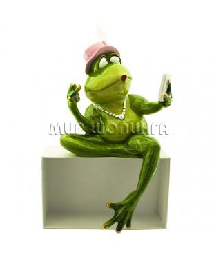 Лягушка модница 21*11*7 см.