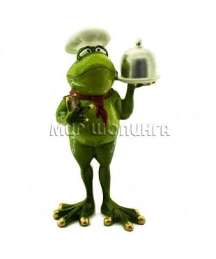 Лягушка повар 20*11*8 см.