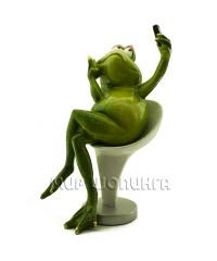 Лягушка (сэлфи) 17*12*10 см.