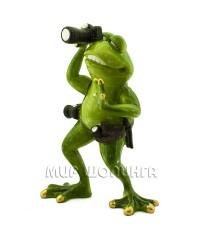 Лягушка фотограф 17*12*8 см.