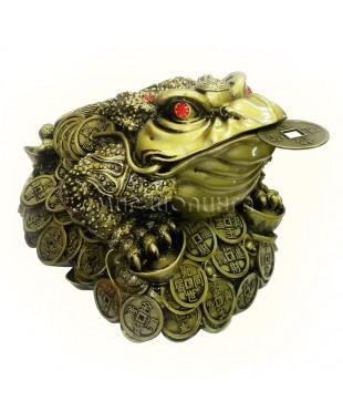 Денежная жаба трёх лапая 21*30*23 см.