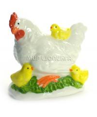 Курица с цыплятами 9*6,5*9 см. KL-1621