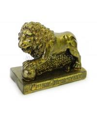 Лев (цвет бронзовый) 7 см.