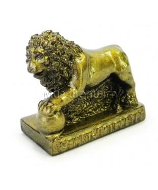 Лев (цвет бронзовый) 5 см.