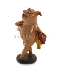 Свинья с покупками 10*5*6 см.