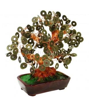 Дерево с монетами 26*23*14 см.