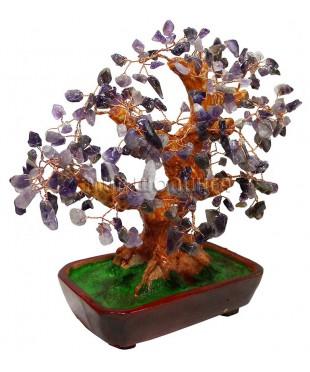 Аметистовое дерево 26*22*14 см.