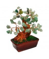 Нефритовое дерево 14*14*8 см.