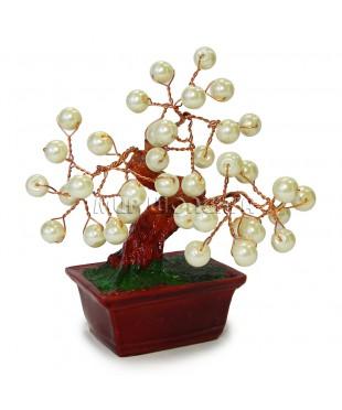 Дерево из жемчужин 11*9*8 см.