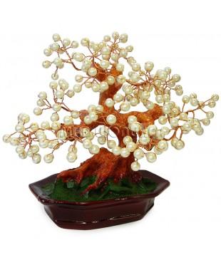 Дерево из жемчужин 20*21*15 см.