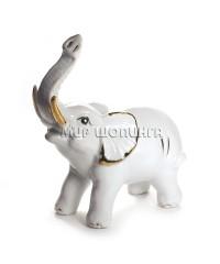 Слон фарфоровый 14*5*13 см.