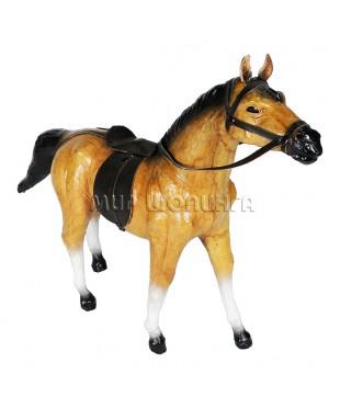 Лошадь (из кожи) 30 см.