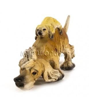 Статуэтка Собака с щенком 12*3*6 см.