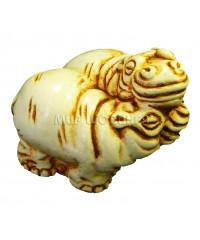 Бегемоты (цвет кость) 5 см.