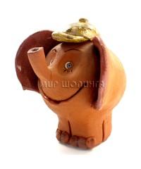 Слон (авторский сувенир) 9*8*8 см.