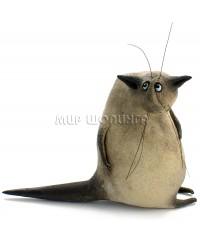 Шамотный кот (авторский сувенир) 11*6,5*15 см.