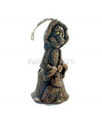 Баба Яга (колокольчик) 13*6,5 см.