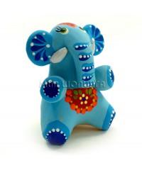 Статуэтка слон (свисток) 7*5*5,5 см.