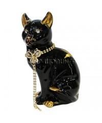 Статуэтка кошка со стразами 24*14*12 см.