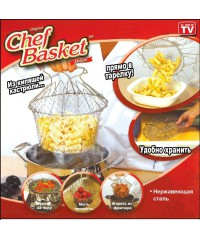 Складная решетка для пригот. пищи Chef Basket (Шеф Баскет)