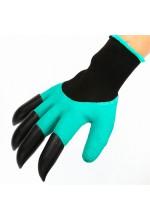Садовые перчатки с когтями Garden Genie Gloves.