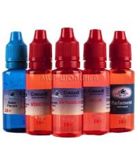 Жидкости Corsair 20 ml крепость 6 mg.