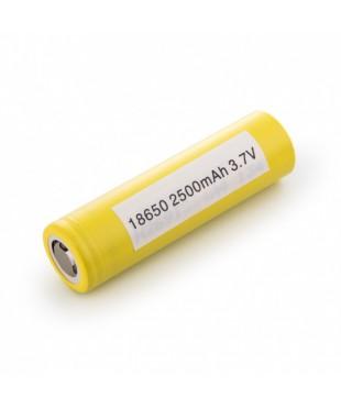 Аккумулятор LG 18650/HE4, 2500mah, 30A, 3,7V Желтый