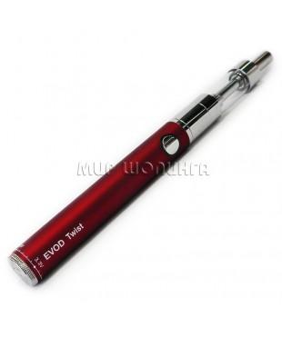 Электронная сигарета EVOD Twist, красная.