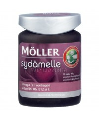 Moller Sydamelle 76 капсул. Витамины для сердца.